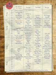 Feel Festival Timetable By FelixDorner