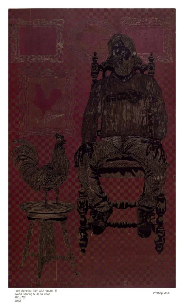 104#Prathap setting on chair & Hen copy