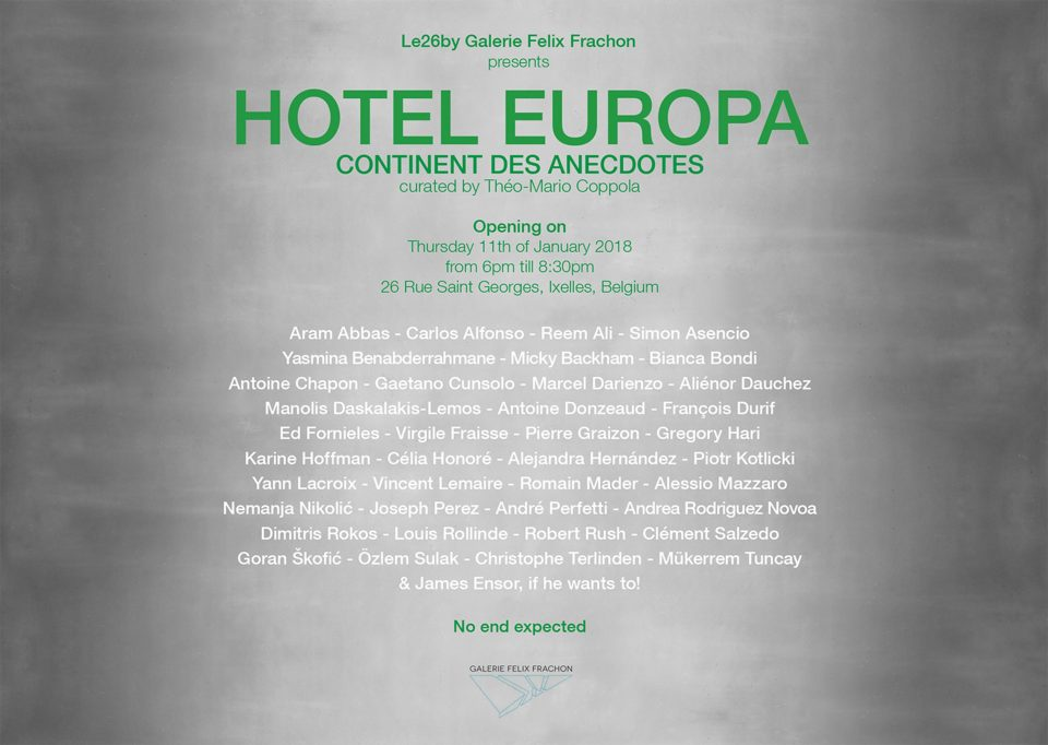 Hotel Europa/ Group show