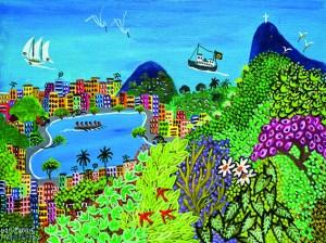 Expo Art Naïf Brésilien-4