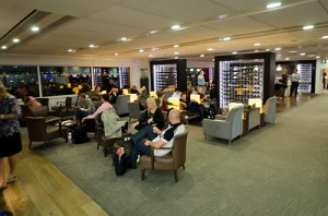 BA - oneworld lounge in Heathrow's Terminal 3 - waiting area