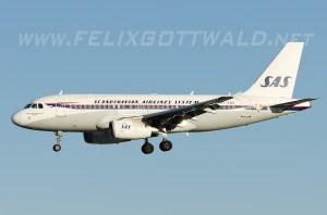 SAS - Retro Airbus A319