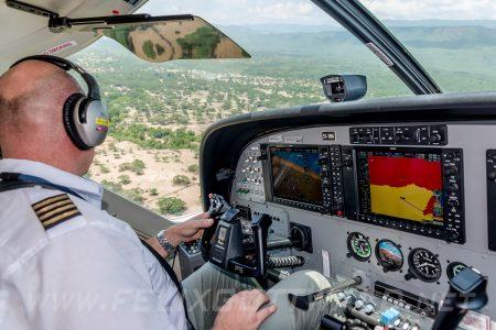 Yellow Wings - Cessna Grand Caravan 208 - 5Y-YWA - Nguruman Rangers Post 03
