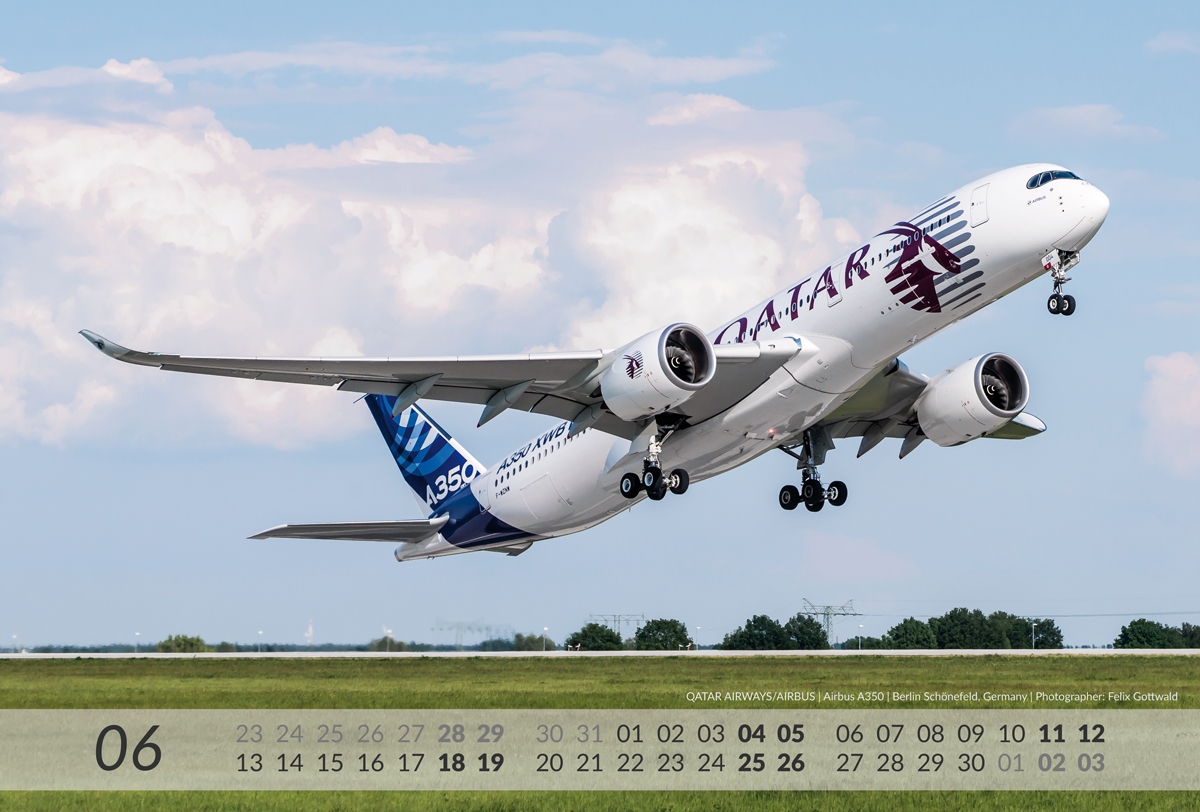 AIRBUS Aviation Calendar 2016 - 06