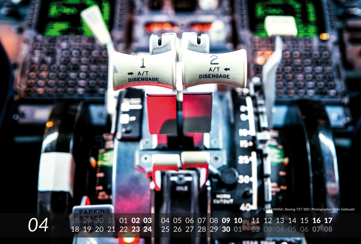 BOEING Aviation Calendar 2016 - 04