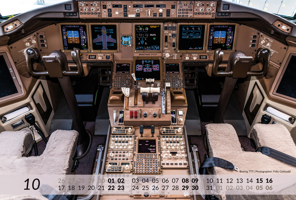 BOEING Aviation Calendar 2016 - 10