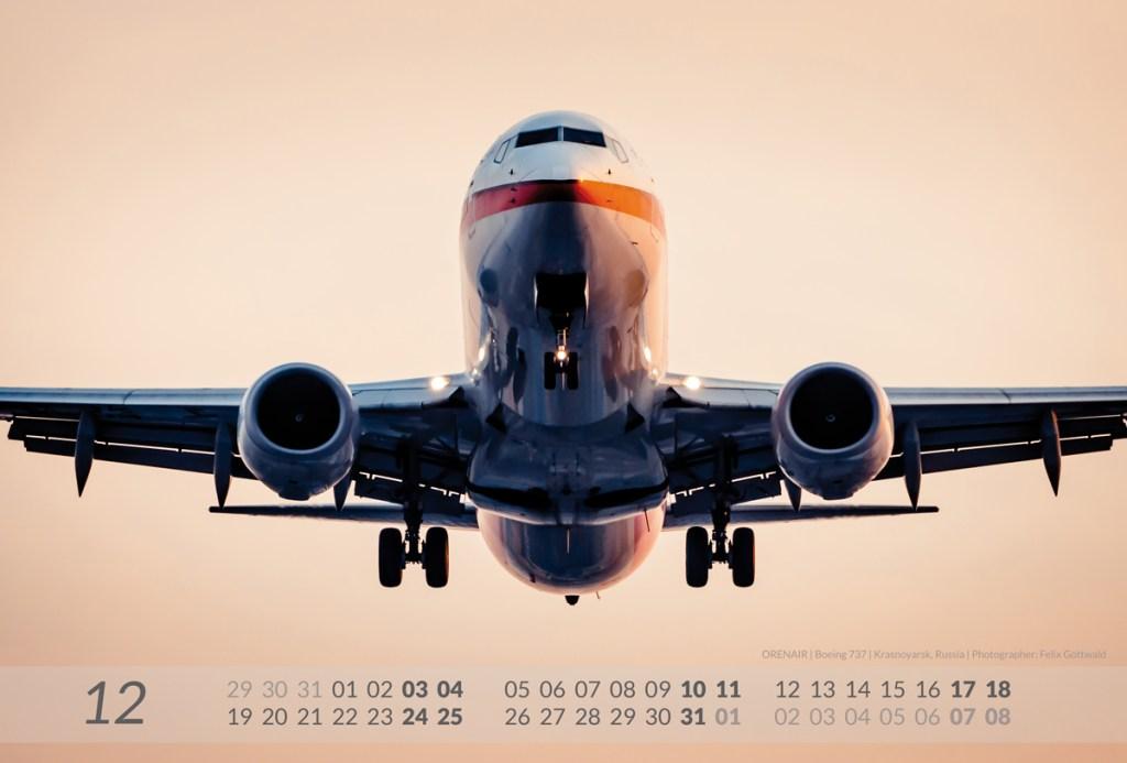BOEING 2016 Aviation Calendar draft