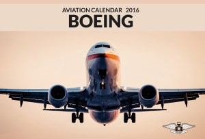 BOEING Aviation Calendar 2016 cover image