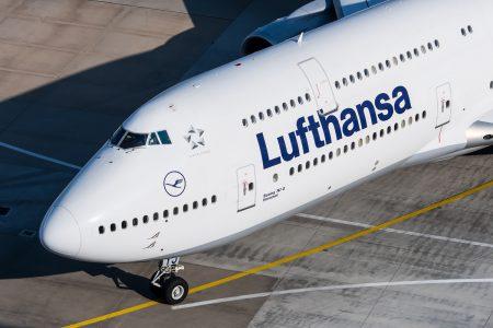 Lufthansa Boeing 747-8 D-ABYJ at Frankfurt Airport