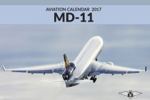 MD-11 Calendar 2017 front cover
