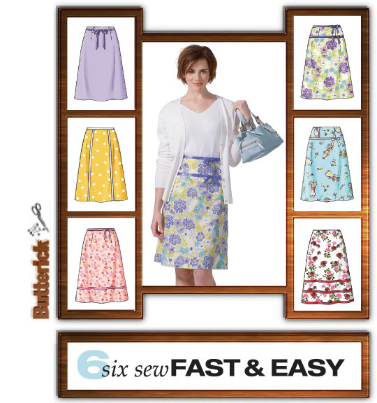 A line skirt for beginners