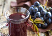 Como fazer suco de uva integral