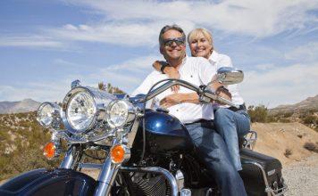 Os motociclistas da terceira idade
