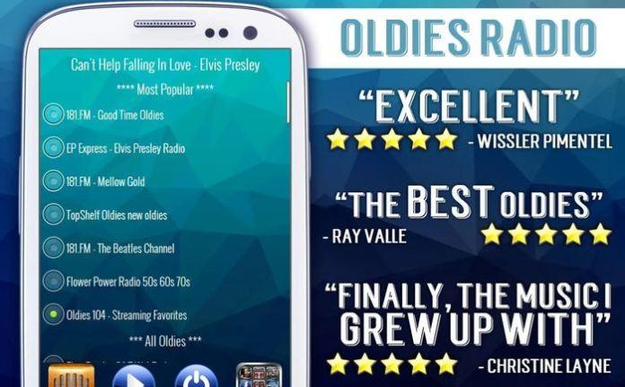 Rádio Saudade: Músicas dos anos 50, 60 e 70 – Aplicativos para celular