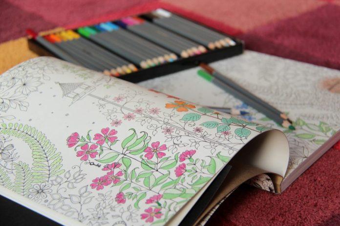 5 benefícios dos livros de colorir para adultos