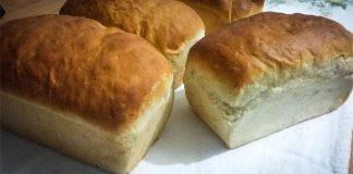 Pão para intolerantes à lactose - Receita