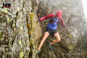 Touch damp on Striding Edge