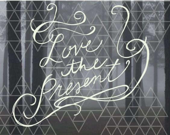 love the present copy