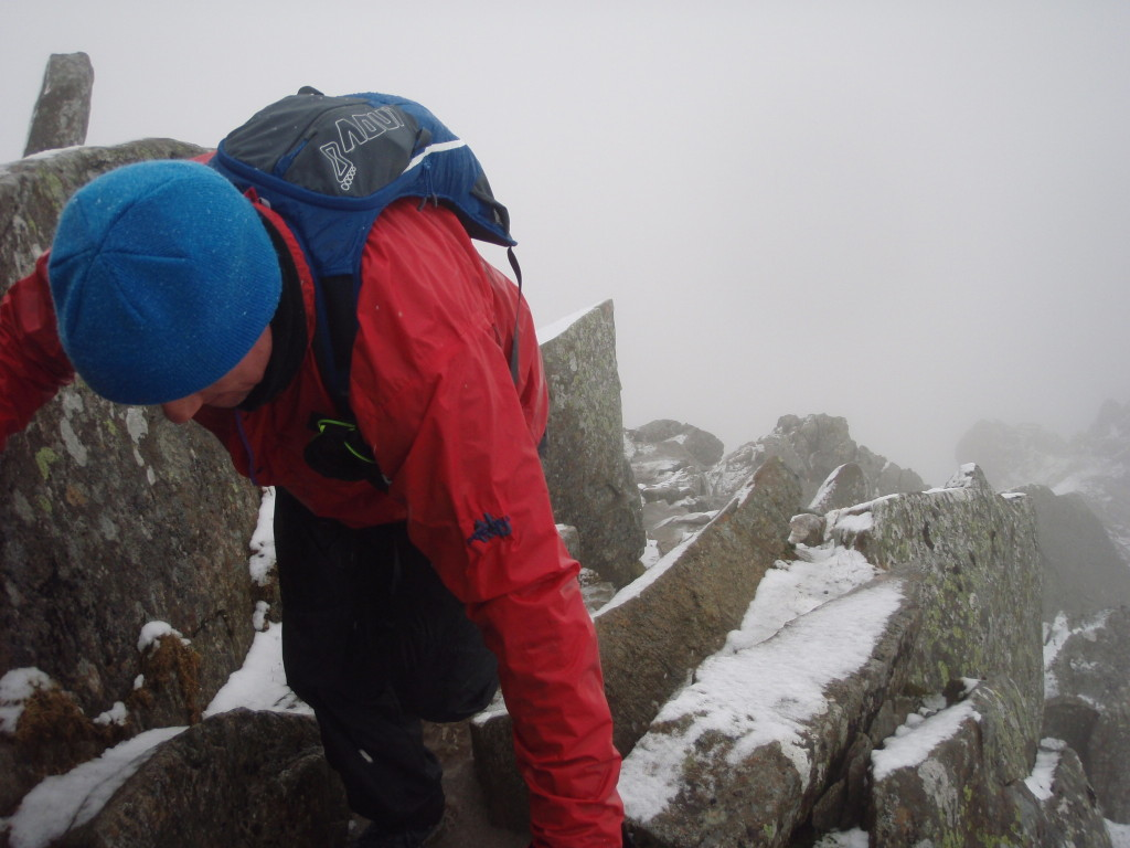 Scrambling on Swirral Edge