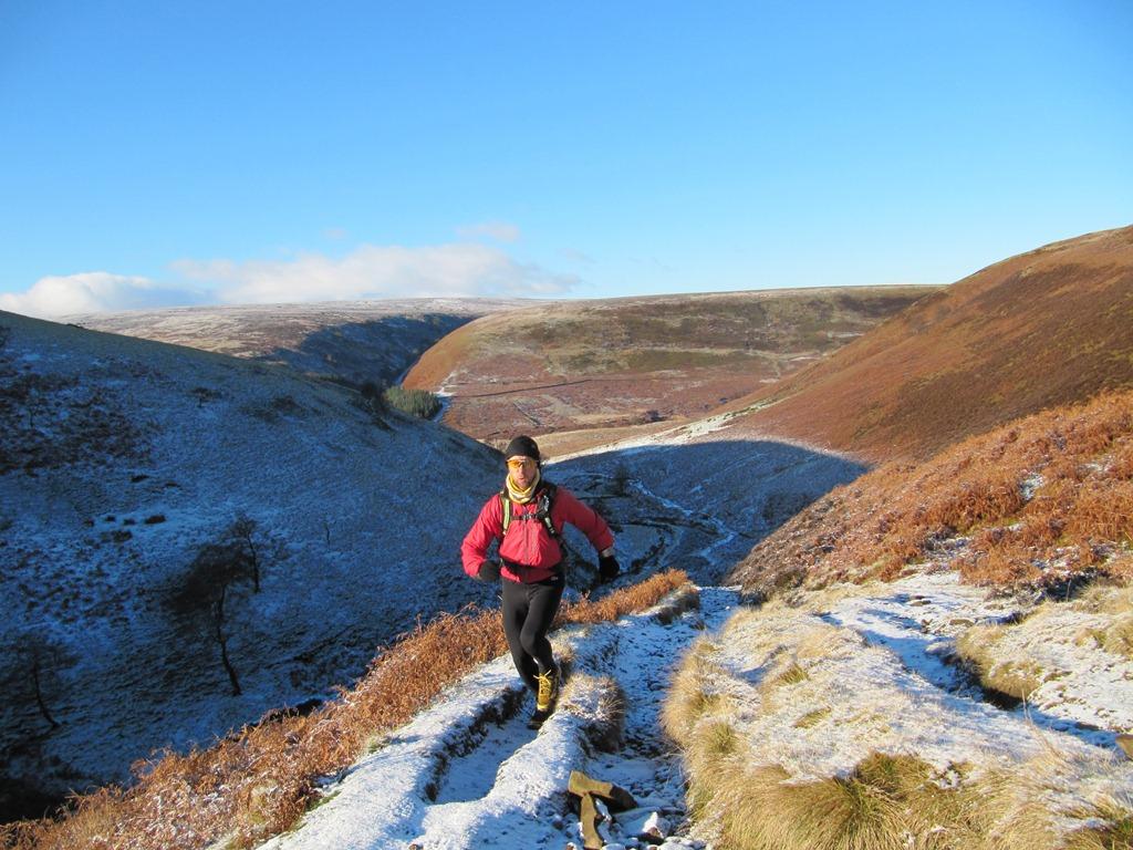 Stunning winter running