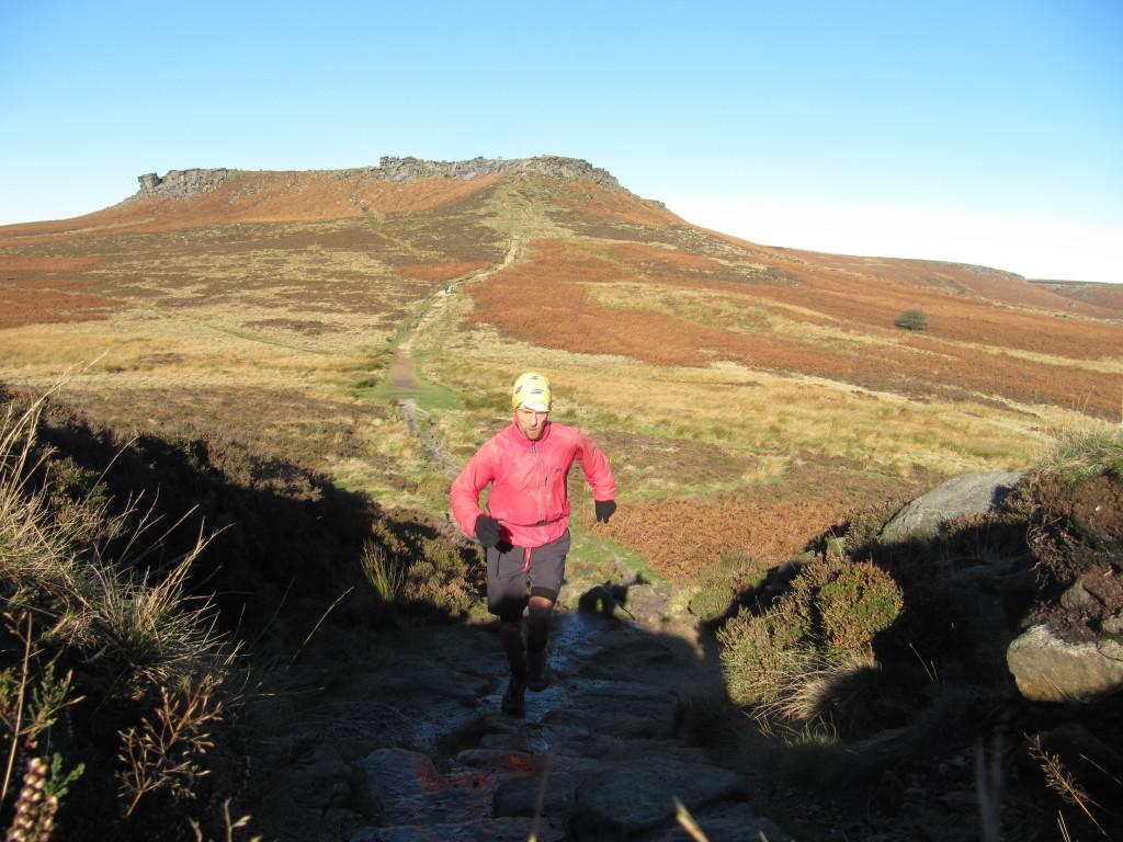 climbing Carl Wark, Higger Tor beyond