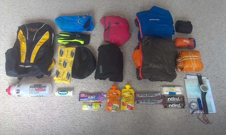 High Peak Marathon equipment