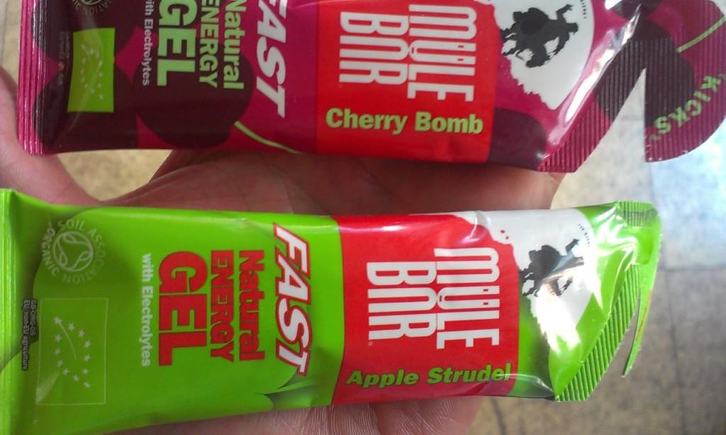 Mule Bar energy gel