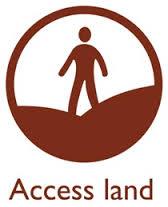 access land symbol