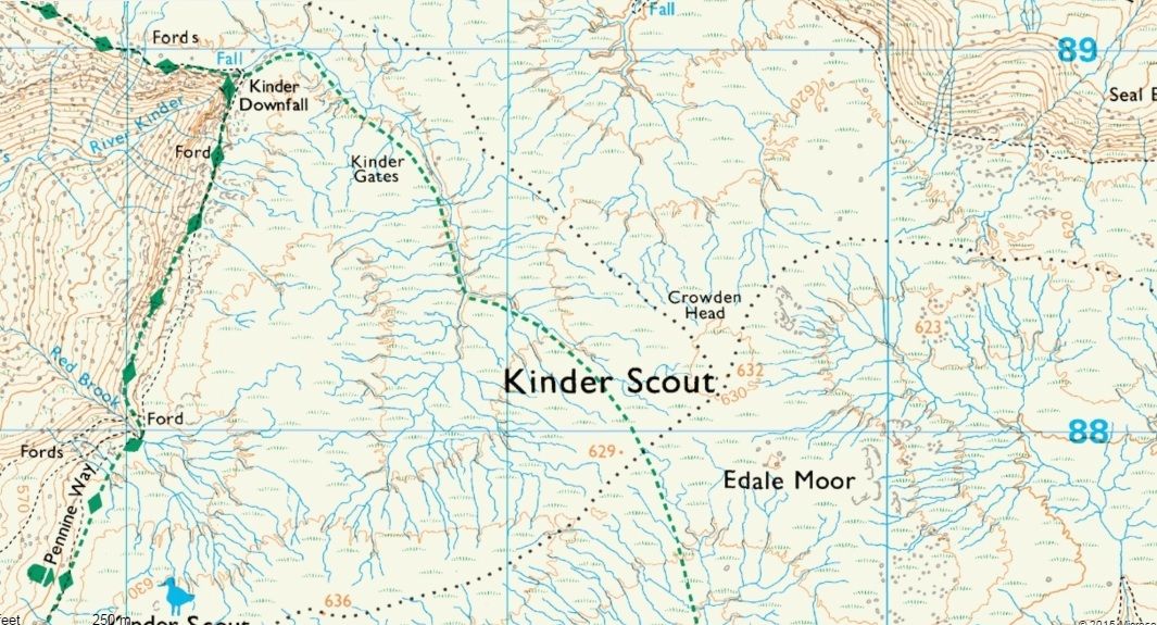 map of kinder