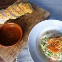 Smoked Salmon and Prawn Risotto