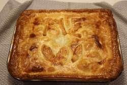Creamy Chicken, Gammon and Leek Pie, Creamy Chicken, Gammon and Leek Pie