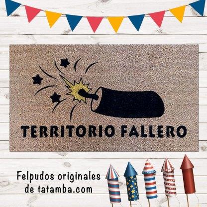 Felpudo Fallas Valencia