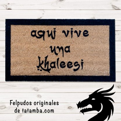 Felpudo Khaleesi