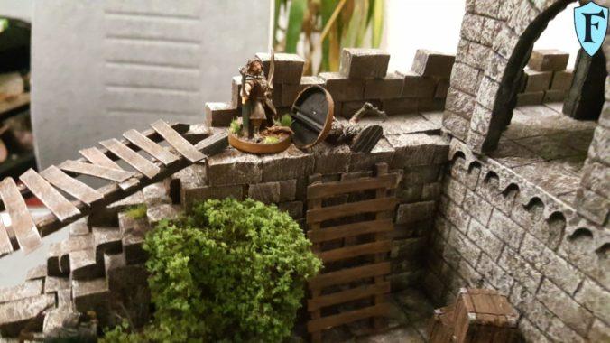 Faramir Streckt einen Ork nieder