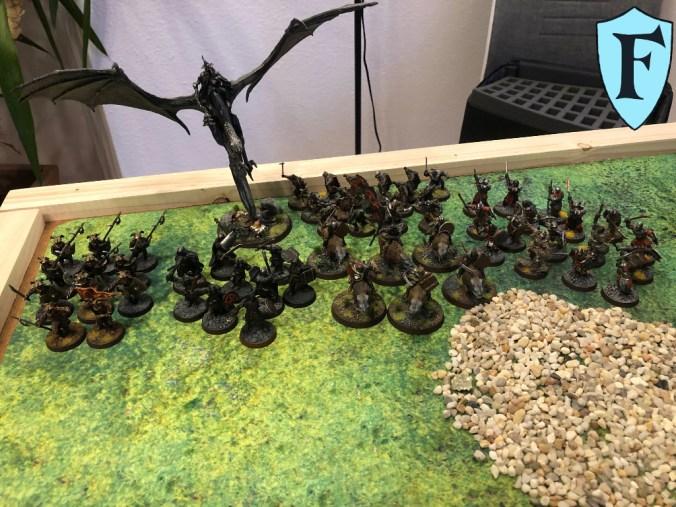 Ostlinge, Mordor-Uruk-Hai, Wargreiter, Orkkrieger, Hexenkönig, Orkspäher