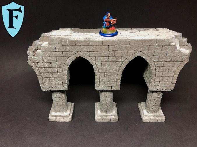 Ein Aquädukt als Gelände für Frostgrave