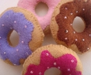 Felt Sugar Donuts
