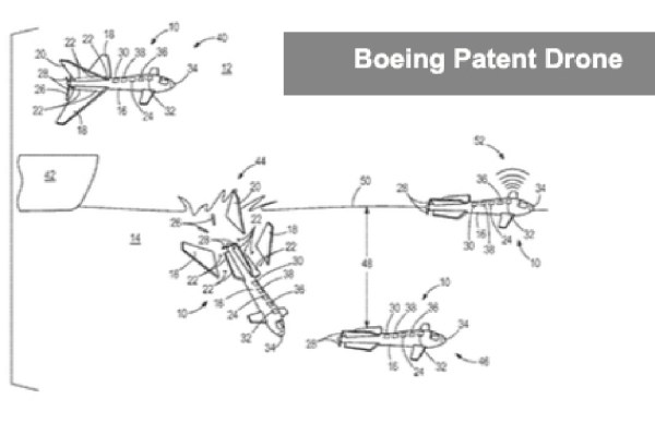 Boeing Patent Drone That Can Turn into a Submarine