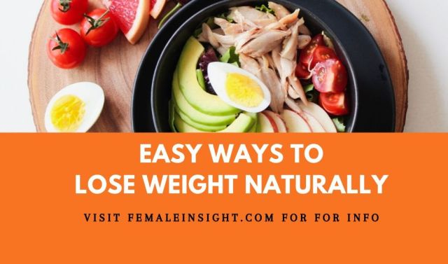 Easy Ways to Lose Weight Naturally
