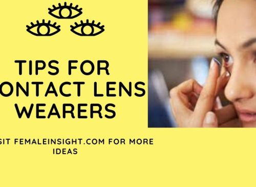 Tips for Contact Lens Wearers