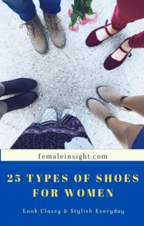 25 Types of Shoes for Women 1