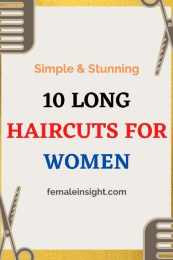 10 Simple Stunning Long Haircuts for Women min