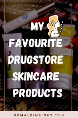 Drugstore Skincare Products min