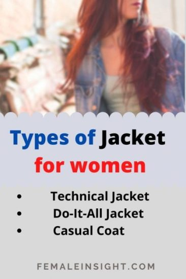 Types of Jacket for women min