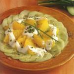 Insalata cetrioli e arance