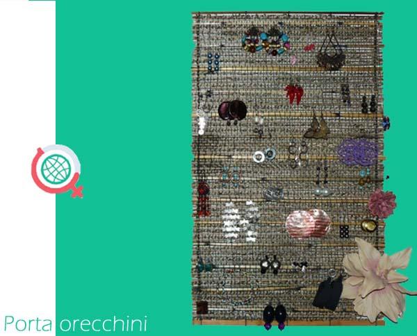 Porta orecchini fai da te female world il blog delle donne - Creare porta orecchini ...