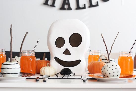 Decorazioni Tavola Halloween Fai Da Te : La tavola di halloween tante idee per apparecchiare con stile