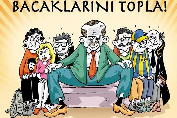 Turchia: #bacaklarinitopla ossia#occhio alle gambe. E' rivolta.