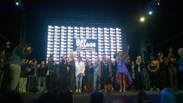 Gay Village: serata di chiusura con un cast d'eccezione
