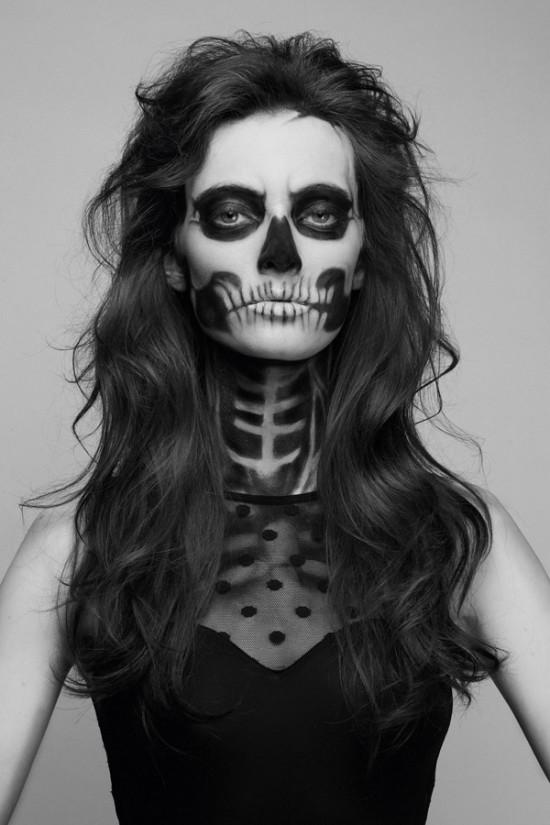 Trucchi Di Halloween Spaventosi.I 20 Make Up Di Halloween Piu Spaventosi Female World Il Blog